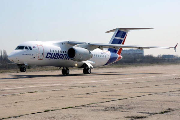 The wing design of the AN-158 was improved to provide about 8.5% more fuel efficiency. Image courtesy of Antonov.