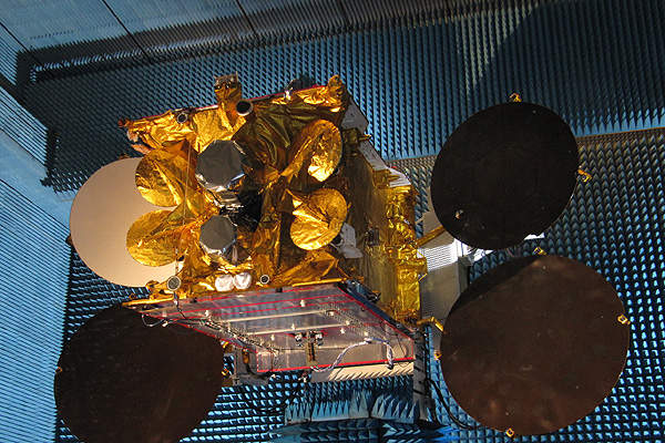 The Ariane 5 rocket lifted Astra 5B into the GTO along with Amazonas 4A satellite. Image courtesy of Philippe Semanaz.