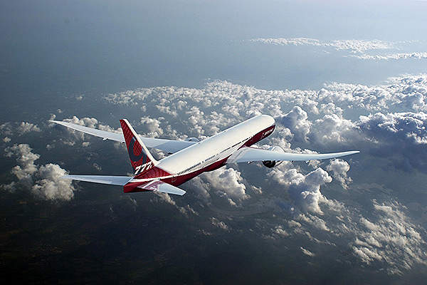 The Boeing 777X will enter into service by 2020. Image courtesy of Boeing.