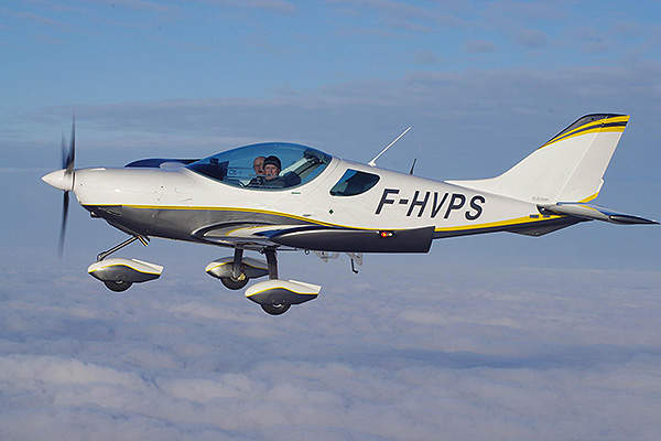 The PS-28 cruiser obtained EASA certification in April 2012. Image courtesy of Czech Sport Aircraft.