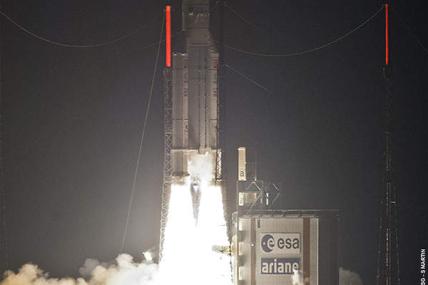 ABS-2 was launched in February 2014. Image courtesy of Asia Broadcast Satellite.