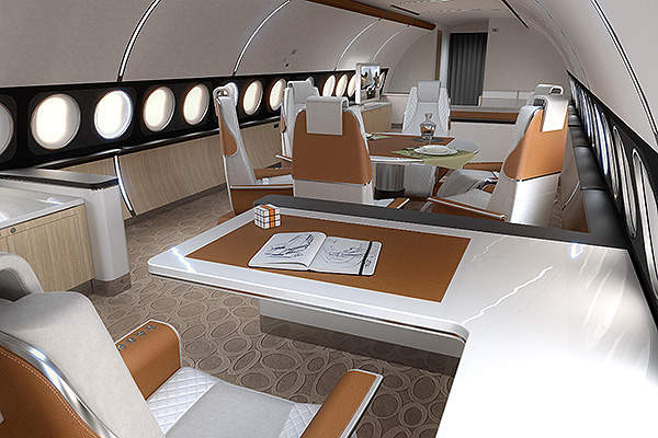 The ACJ319 Elegance is a new version based on the ACJ319 airframe. Image courtesy of Airbus S.A.S.