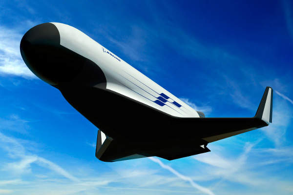 The XS-1 spacecraft will have an aircraft-like access into the space to deploy small satellites. Image courtesy of Boeing.