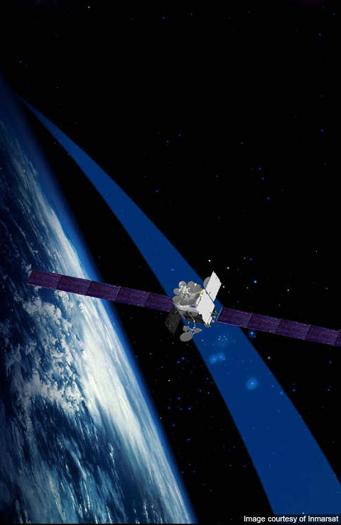 Inmarsat-5 is being designed and built by Boeing Space and Intelligence Systems.