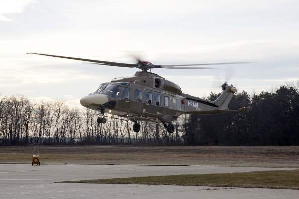 AgustaWestland plans to begin the deliveries of the AW189 in 2014. Image courtesy of AgustaWestland.