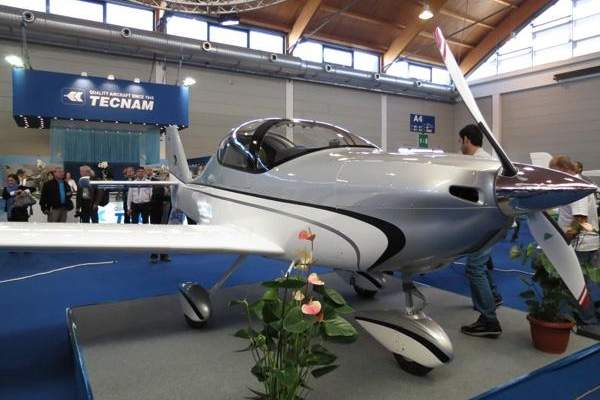The Astore light sport aircraft features an all-metal airframe structure. Image: courtesy of Costruzioni Aeronautiche TECNAM S.r.l.