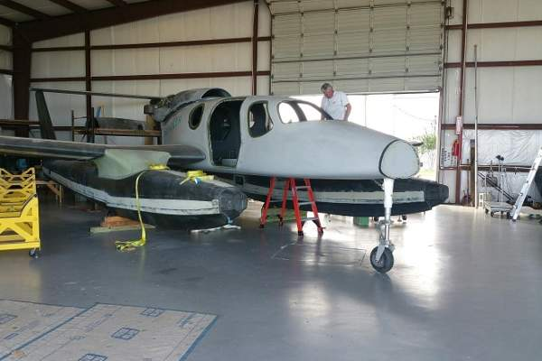 The aircraft is integrated and constructed by Comp Air Aviation. Image: courtesy of Privateer Industries.