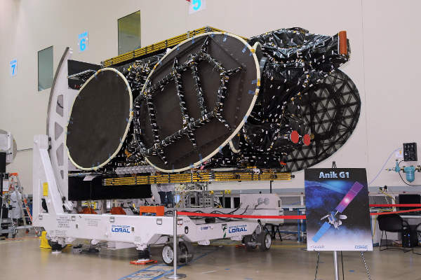 Anik G1 was developed at Space Systems/Loral's facility in Palo Alto, California.