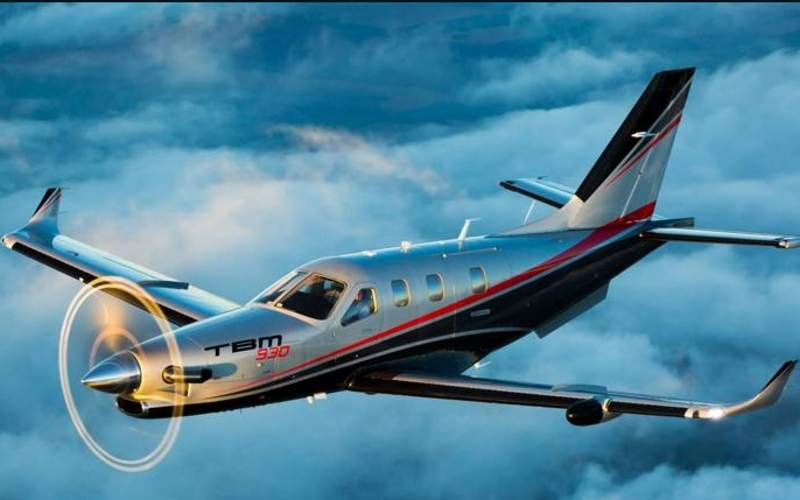 The TBM 930 is powered by a single PT6A-66D turboprop engine. Image courtesy of Daher.