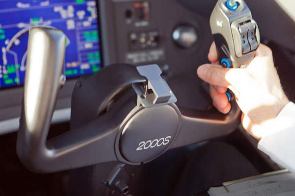 The aircraft features EASy II avionics suite.