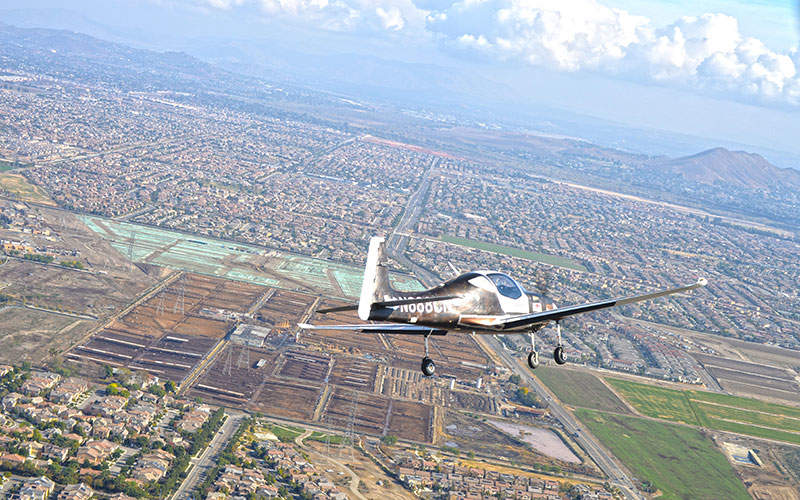 The aircraft can fly at a cruse speed of 140kt. Image: courtesy of Mooney International Corporation.