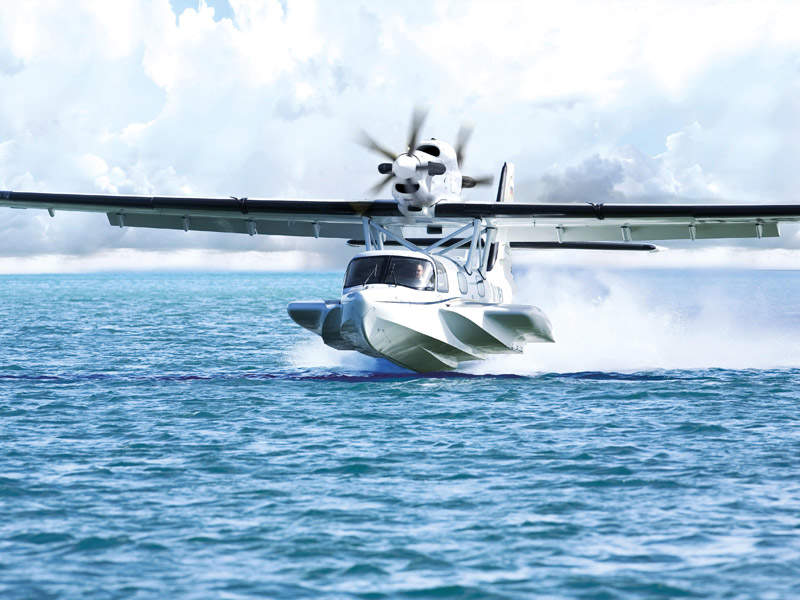 The Seastar is suitable for different operations including VIP, commercial, government or corporate missions. Image: courtesy of Dornier Seawings.