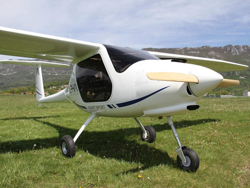 The aircraft's fuel tank has a capacity of 50 litres. Image: courtesy of Pipistrel.