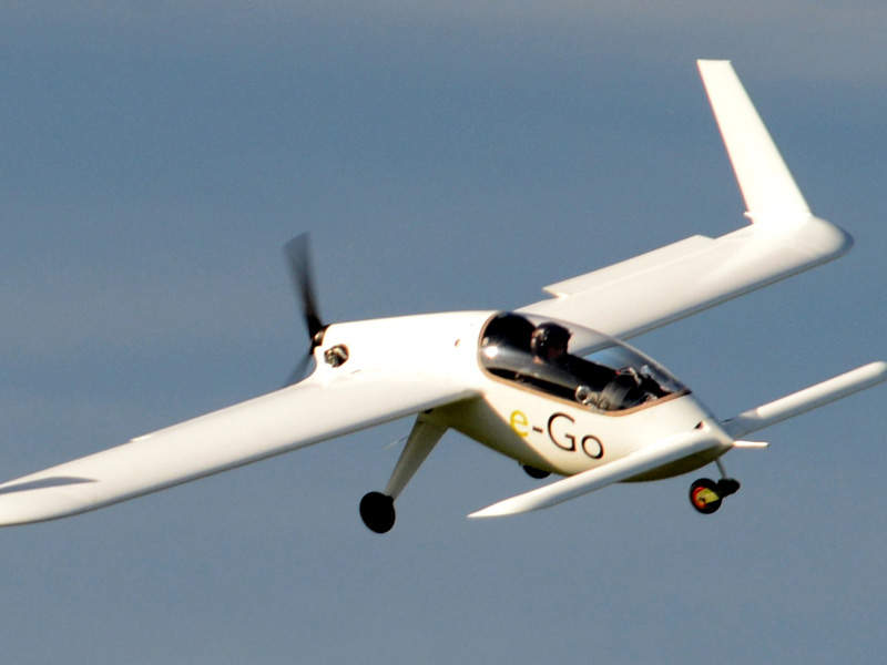 The e-Go LSA features Kanardia NESIS III electronic flight instrument system. Image: courtesy of Vicaero.