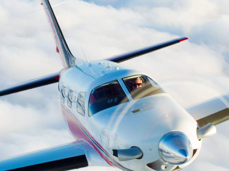 The aircraft has seating available for six passengers. Image: courtesy of Jim Barrett Photography.