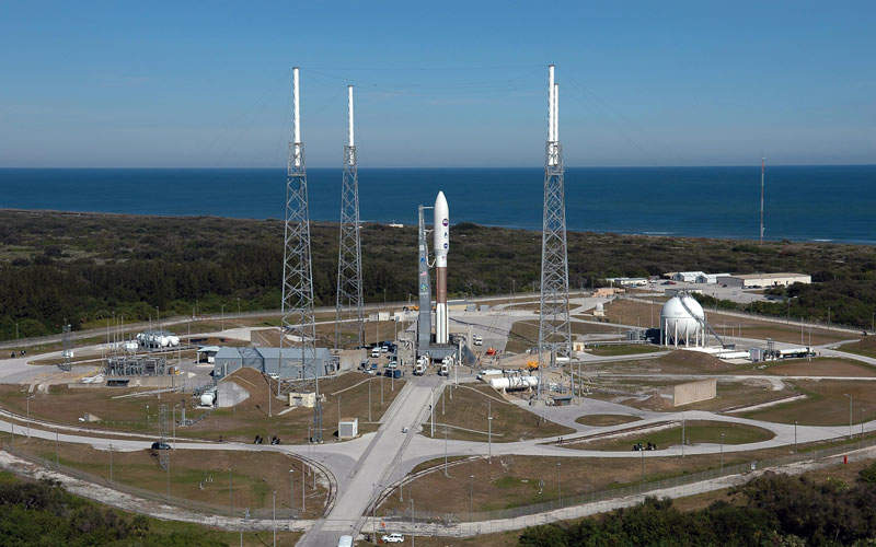 The EchoStar XIX satellite was launched from Space Launch Complex 41 (SLC-41) at Cape Canaveral Air Force Station in Florida, US.