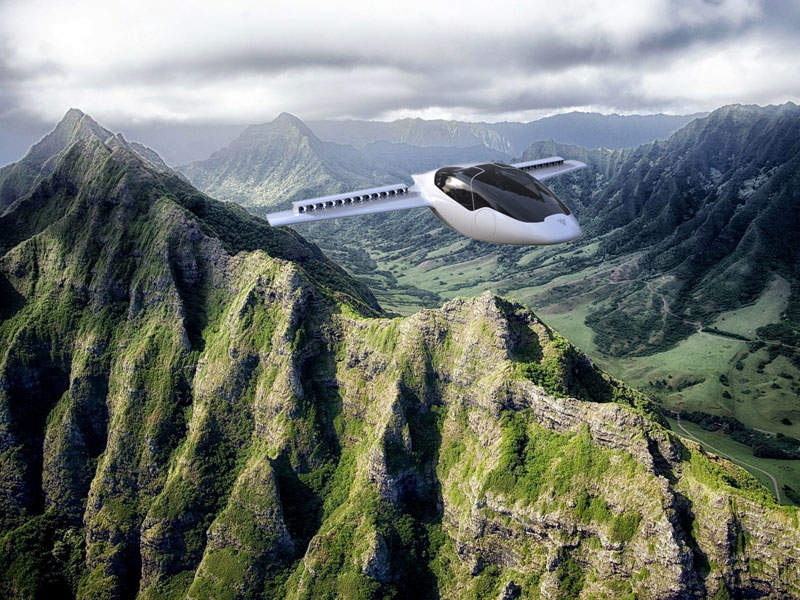 The aircraft is designed to fly during daylight with good weather conditions. Image courtesy of Lilium GmbH.