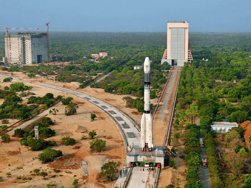 The satellite was launched from second launch pad (SLP) located at Satish Dhawan Space Centre in Sriharikota. Image courtesy of ISRO.