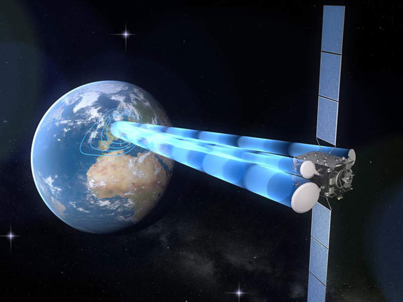 The Heinrich Hertz communications satellite project is being implemented by German Aerospace Center (DLR). Image courtesy of German Aerospace Center (DLR).