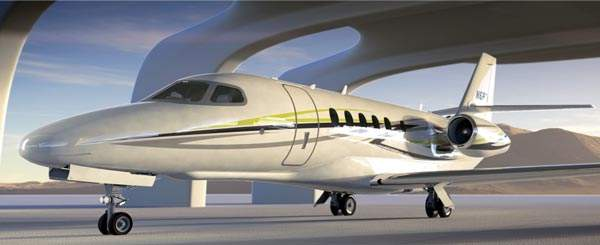 The first prototype of Cessna Citation Latitude made first flight in February 2014. Image courtesy of Cessna Aircraft Company.