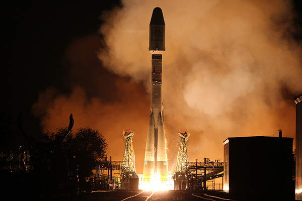 MetOp-B was launched into the orbit in September 2012. Image courtesy of EUMETSAT.