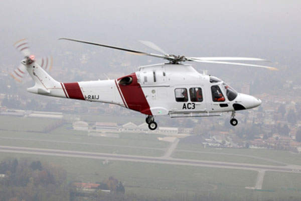 The maiden flight of the third prototype of AW169 was completed in November 2012.