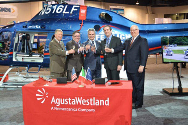 The first AW119Kx helicopter was delivered to Life Flight Network.