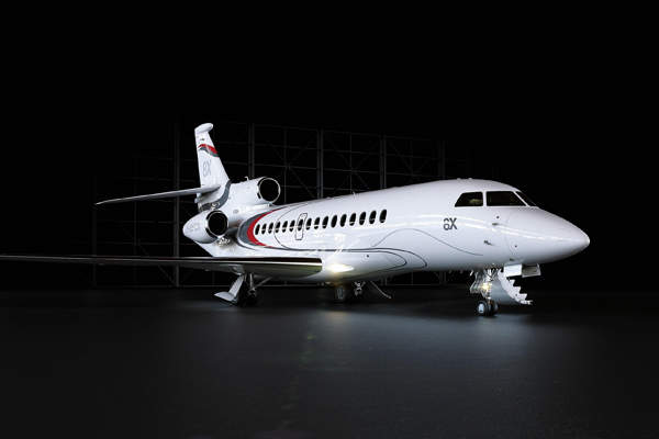 The first flight of the aircraft was achieved in February 2015. Image courtesy of Dassault Aviation.