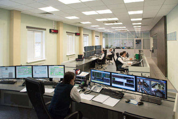 Operations are controlled from a ground control station in Shchelkovo. Image courtesy of Gazprom.