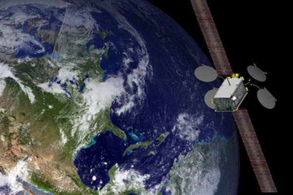 EUTELSAT 115 West B is based on Boeing's 702SP platform. Image courtesy of Boeing.