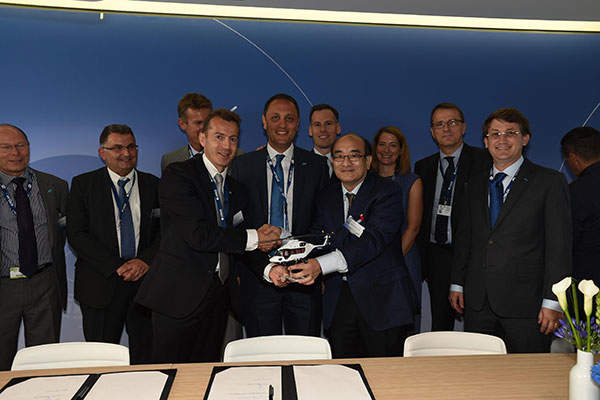 Milestone Aviation Group is expected to receive up to 28 H175 helicopters. Credit: Airbus Helicopters.