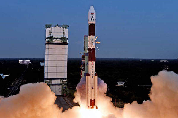 Astrosat was launched form the first launch pad of Satish Dhawan Space Centre in Sriharikota, in September 2015. Image: courtesy of ISRO.