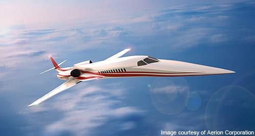 A rendering of Aerion SBJ.