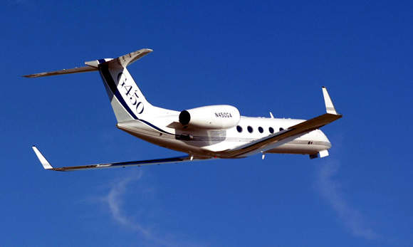 The aircraft can carry up to 19 passengers and cruise at an altitude up to 13,715m (45,000ft), climbing to 41,000ft in 23 minutes.