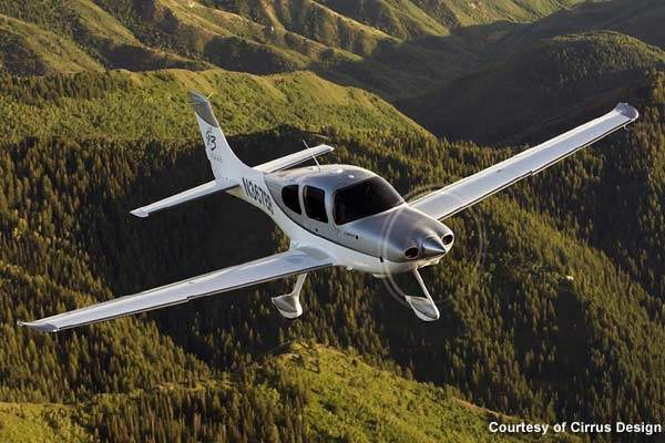 Measuring 7.92m in length, the SR22 is a four-seater aircraft with a cabin width of 124cm and a cabin height of 127cm.