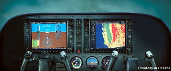 Skyhawk G1000 Avionics.