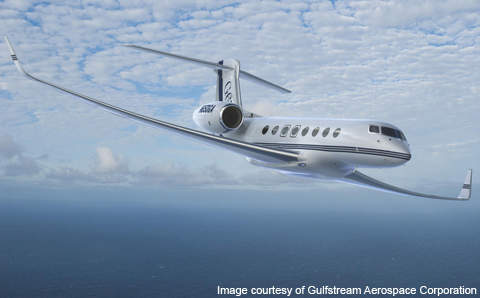 As of September 2012, Gulfstream Aerospace Corporation received orders for 200 jet liners and 400 letters of intent for the G650.