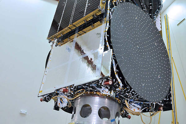 The satellite is based on the LS 1300 platform. Image courtesy of Space Systems / Loral.