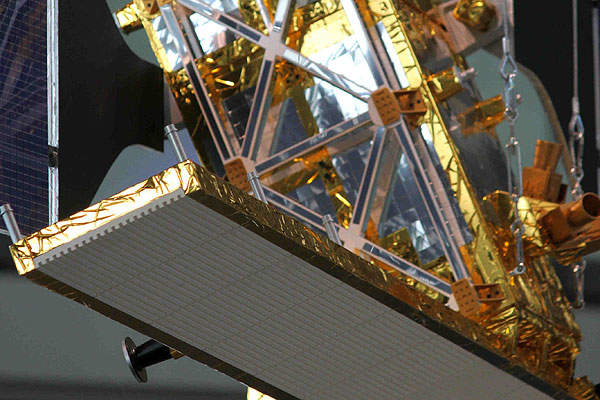 The Sentinel-1A satellite is the first in the twin satellite Sentinel-1 constellation, which was launched in April 2014. Image courtesy of DLR_de.