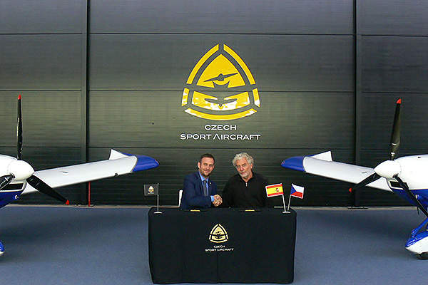 Czech Sport Aircraft delivered two PS-28 cruiser aircraft to Spain in November 2013. Image courtesy of Czech Sport Aircraft.