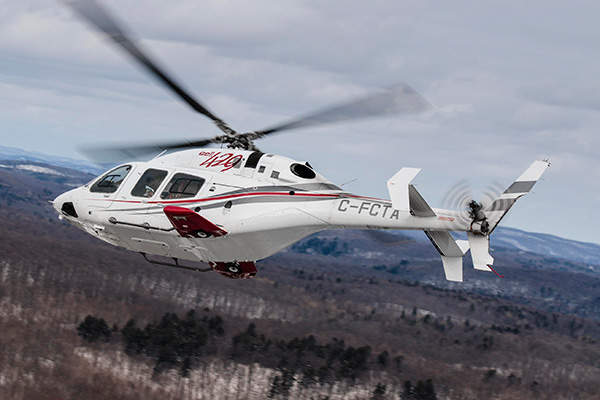 The helicopter has a maximum cruise speed of 152kt. Image courtesy of Bell Helicopter Textron.