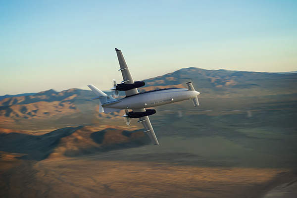 The aircraft has a maximum speed of 402k (745km/h). Image courtesy of Piaggio Aero Industries S.p.A.
