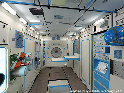 The CSS module will be 20m³ with four cabins.