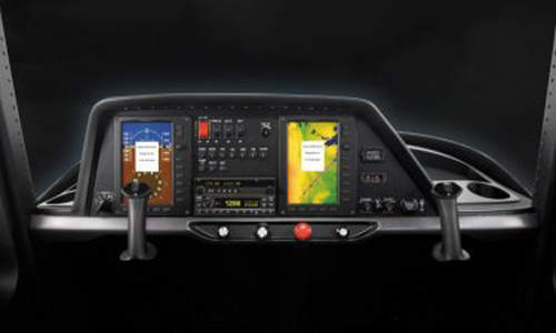 Garmin G300 Avionics designed especially for the Cessna Skycatcher.