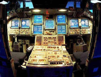space shuttle cockpit displays - photo #15