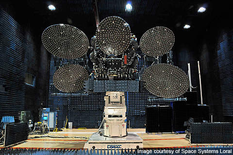 The spacecraft was designed to have two extended solar wings, each comprising four solar panels for supplying electrical power.