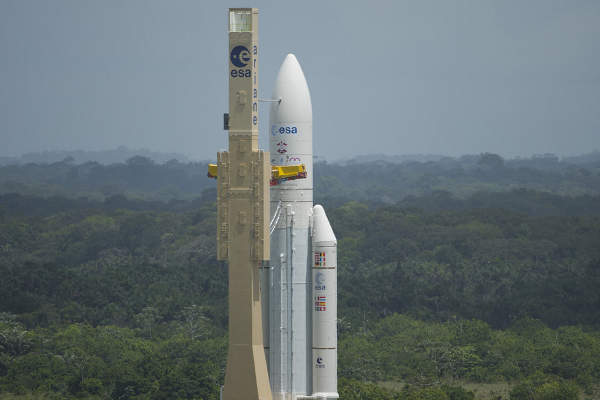 ATV-4 is the heaviest cargo vessel ever launched by ESA. Image courtesy of European Space Agency (ESA).