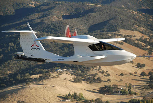 The A5 has successfully completed spin-resistance tests to comply with the FAA Part 23 standards for light sport aircraft.