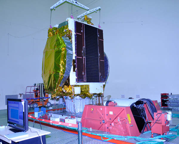 GSAT-10 is fitted with 30 transponders in total. Image courtesy of ISRO.