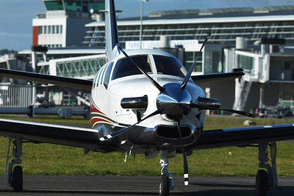 The aircraft has a top cruise speed of 467km/h at 28,000ft altitude. Image courtesy of DAHER-SOCATA.